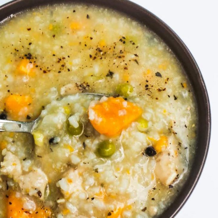 30-Minute Homemade Chicken Soup With Rice