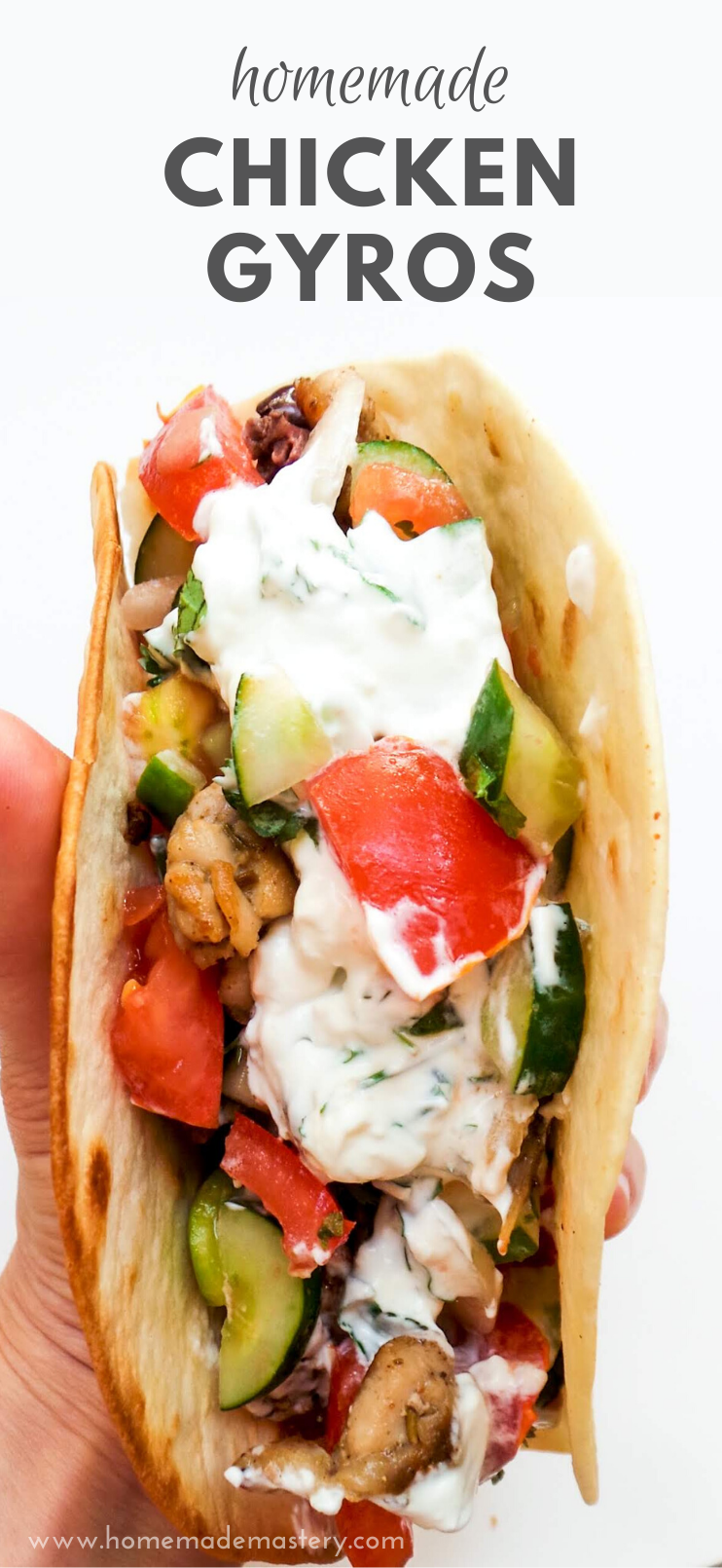 Homemade Chicken Gyros Recipe Meal Prep Option Homemade Mastery