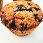 Healthy breakfast blueberry oatmeal muffins! These delicious easy breakfast muffins are flourless, refined sugar-free, rich in fiber and very tasty! Store these meal prep breakfast muffins in the fridge for a simple healthy on the go breakfast!
