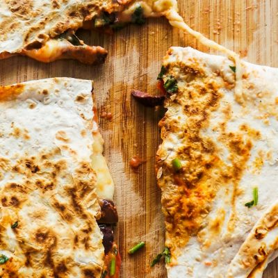 10-Minute Vegetarian Quesadilla