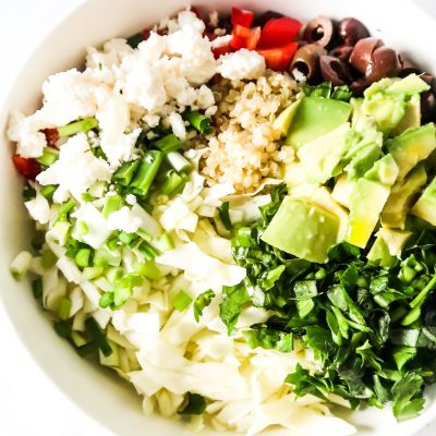 Healthy Quinoa Avocado Salad