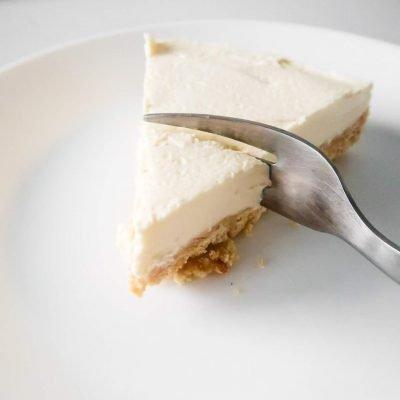 5-Ingredient No-Bake Cheesecake