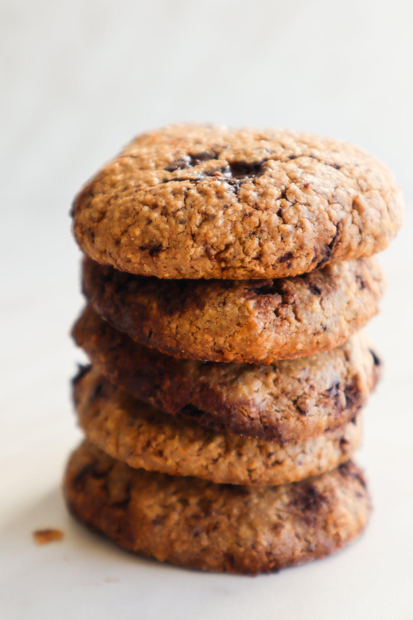 healthy snacks: oatmeal cookie recipe