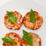 oatmeal pizza - quick healthy snack recipe