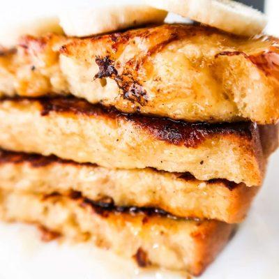 10-Minute Banana French Toast Recipe