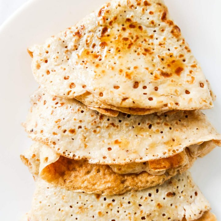 10 Minute Sweet Oatmeal Crepes Recipe Homemade Mastery