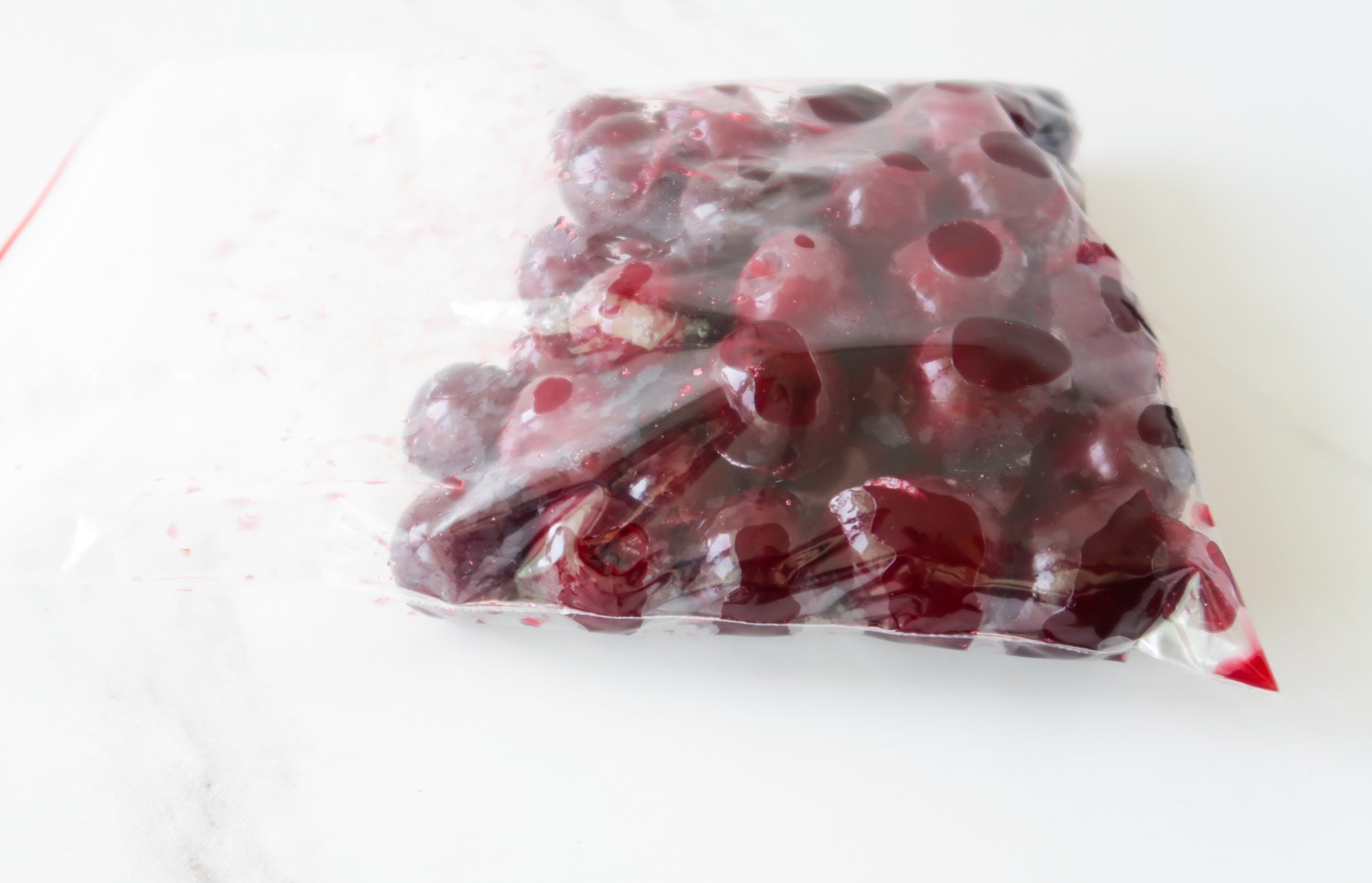 how to freeze cherries, how to use frozen cherries and why you need to be freezing cherries
