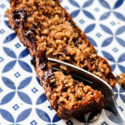 Healthy Pumpkin Bread Recipe with oats