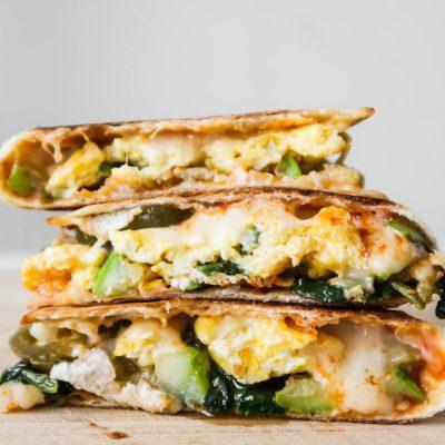 Healthy Breakfast Quesadilla Recipe