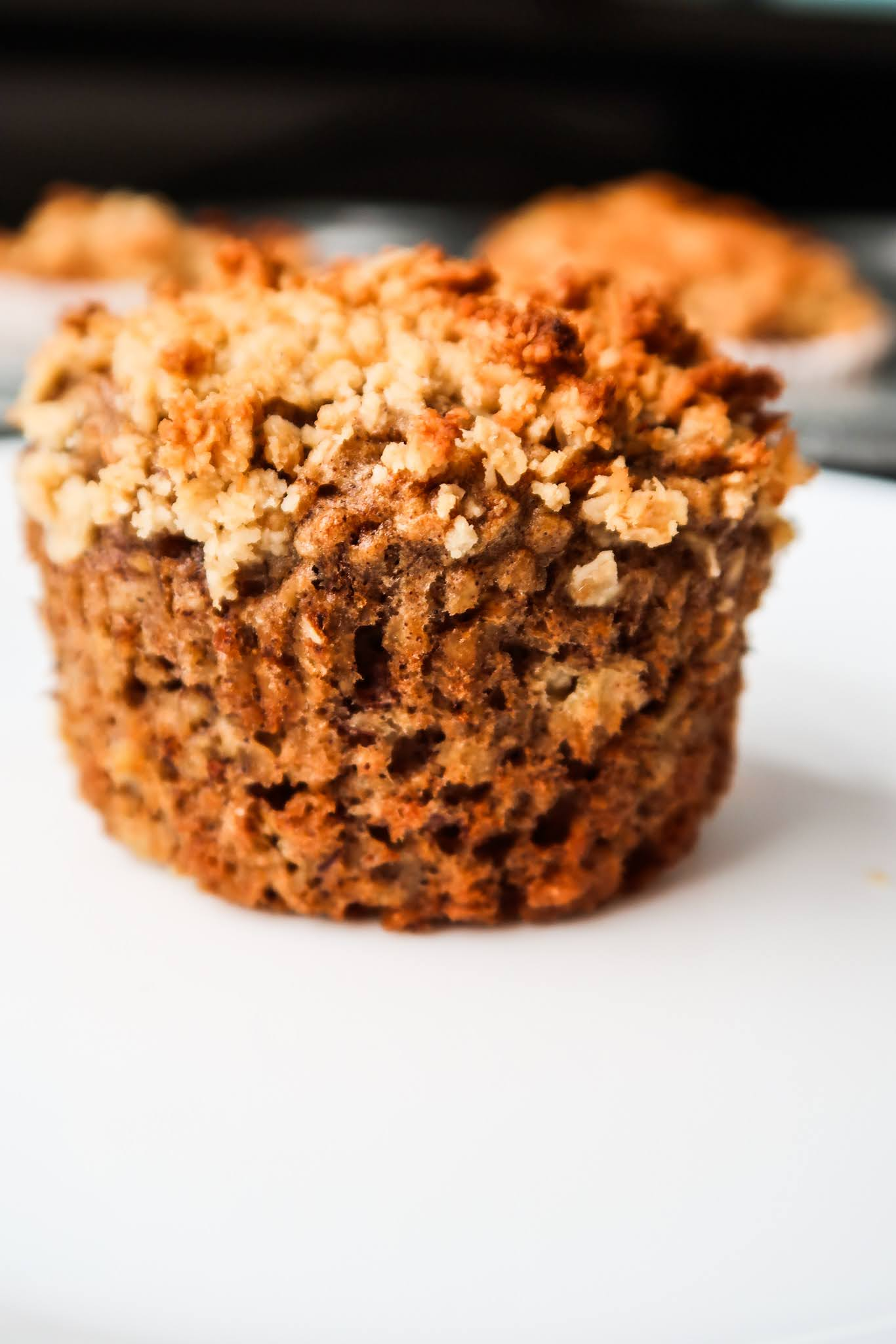If you're looking for some delicious and easy breakfast ideas to meal prep this week, you need to try this healthy oatmeal banana muffin recipe!
