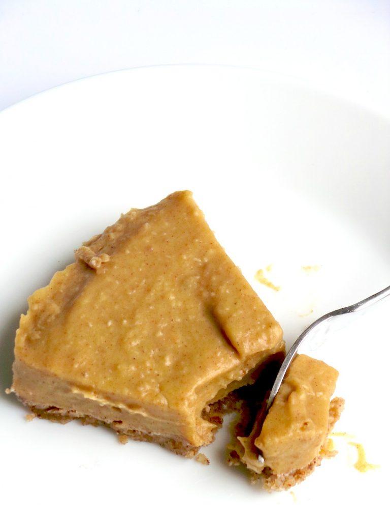no bake butternut squash pie