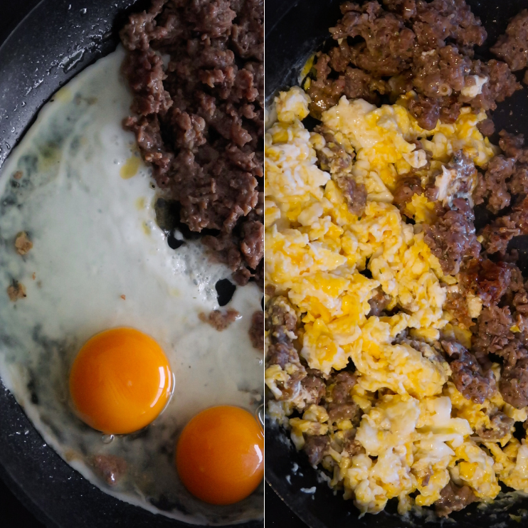step 2 beef fried rice