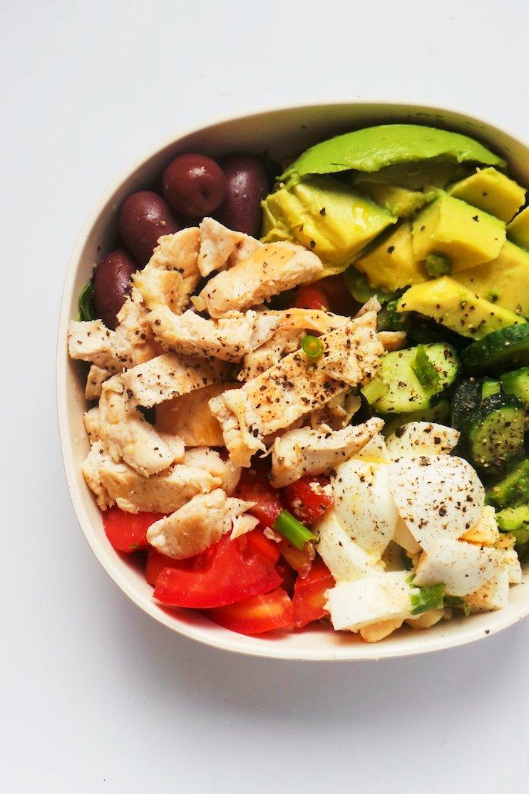 low carb avocado chicken egg salad - easy chicken salad recipes