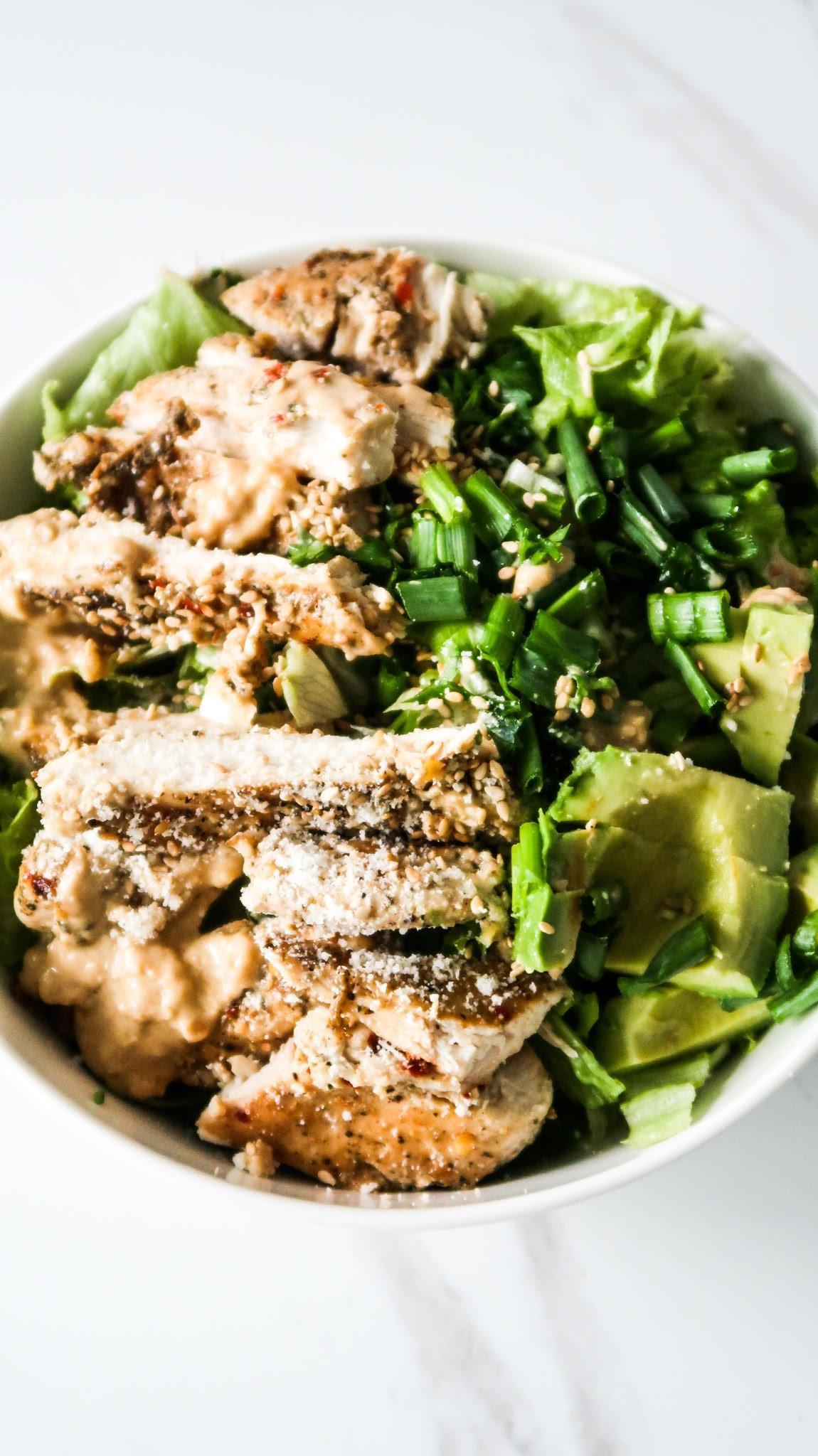 avocado chicken salad - easy chicken salad recipes