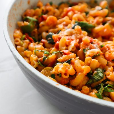 12-Minute Spicy Feta Pasta Recipe
