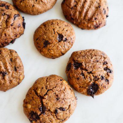 Healthy Peanut Butter Oatmeal Cookies (Flourless)