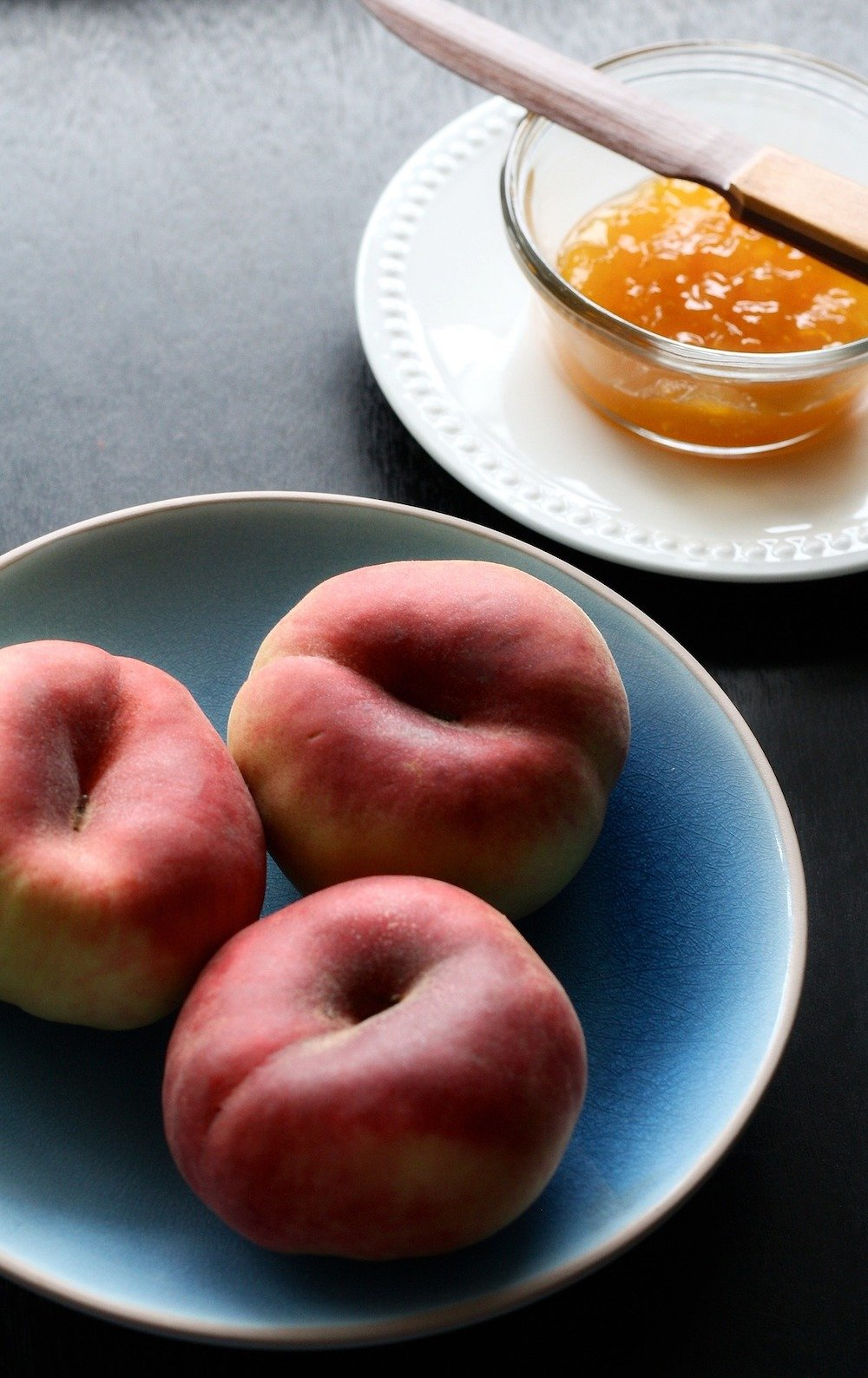 how to use frozen peaches for peach jam