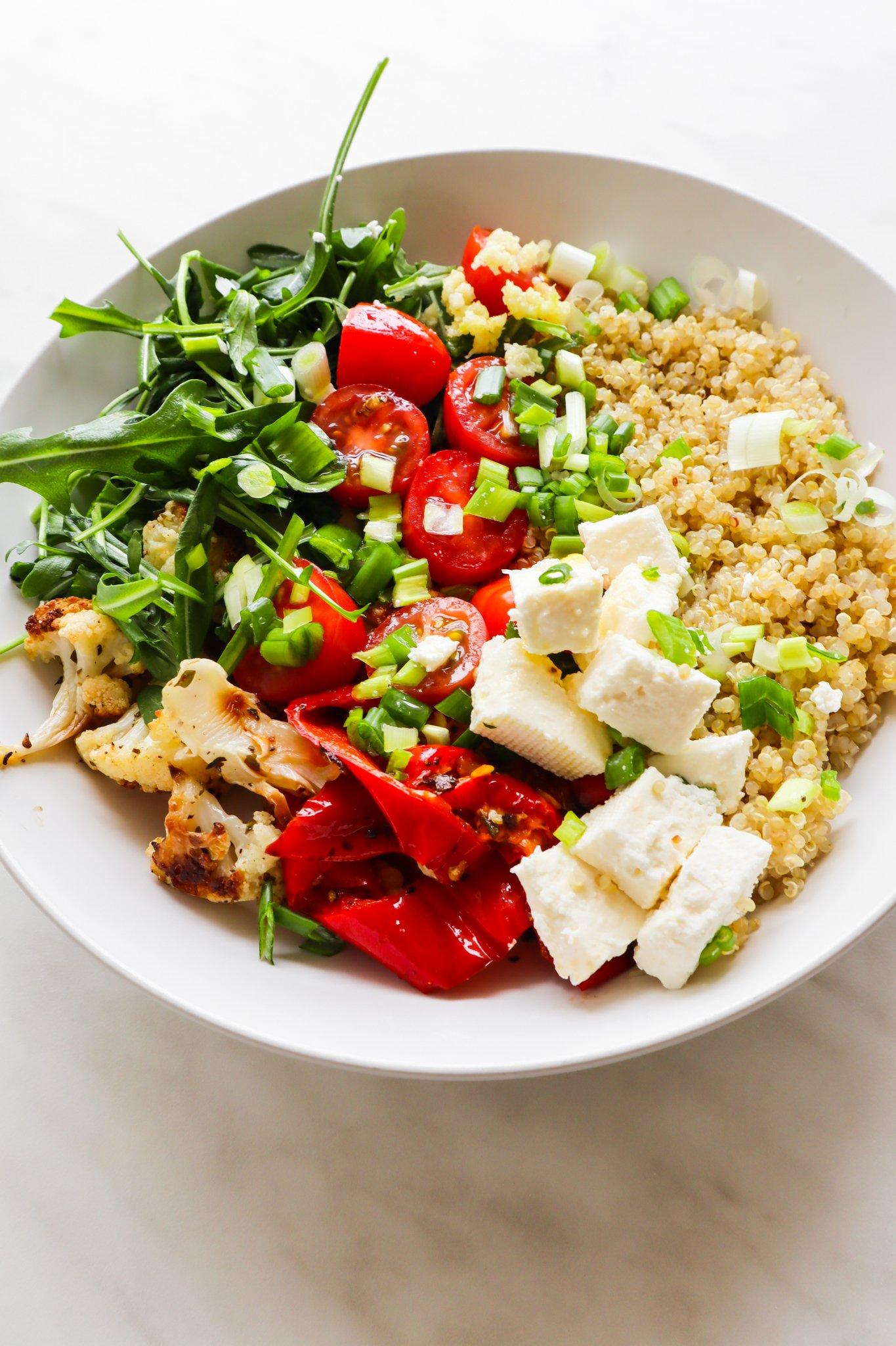 Quinoa and Roasted Veg Salad Recipe