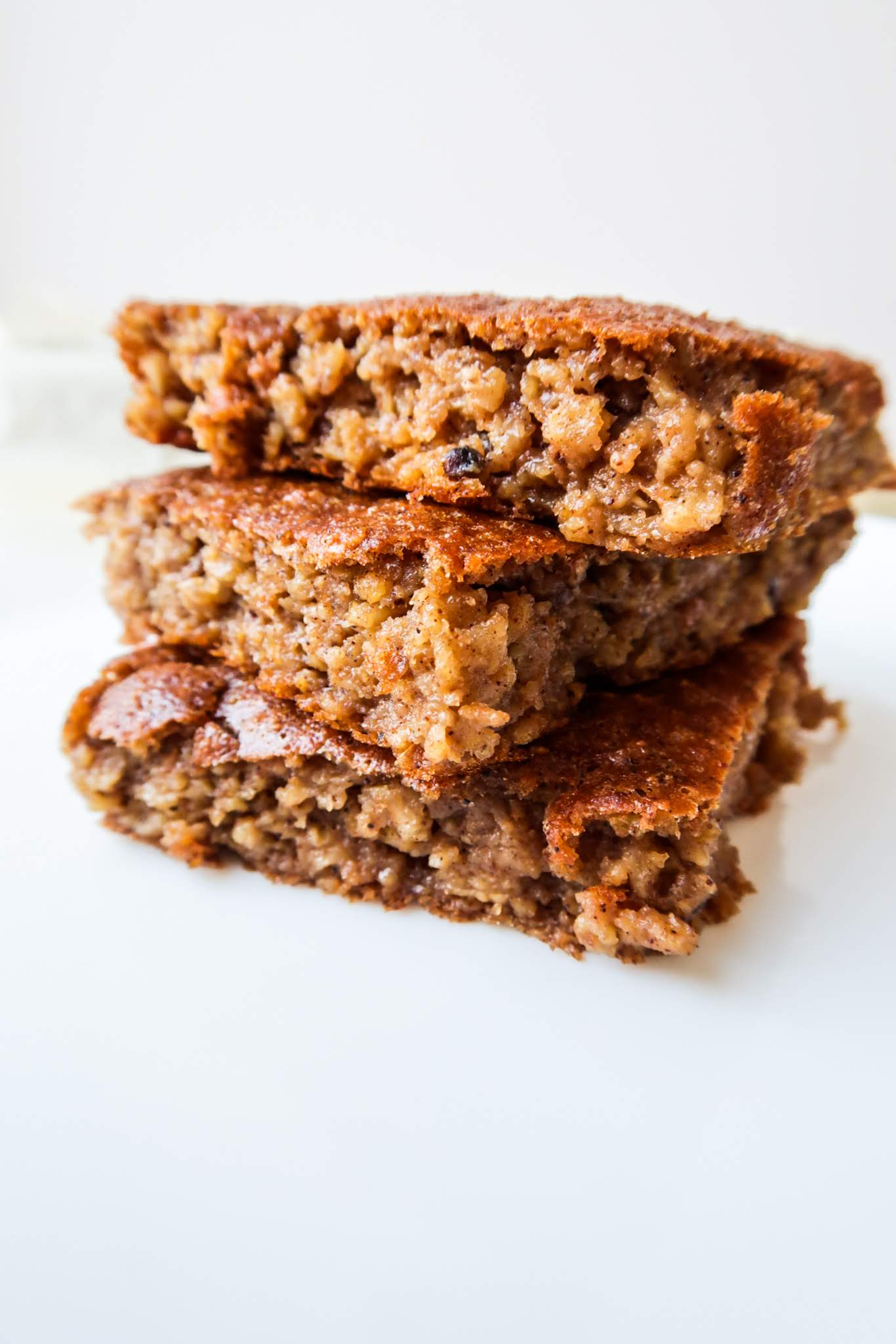 healthy apple breakfast cake - healthy breakfast idea