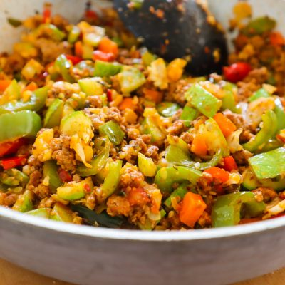 Healthy Ground Beef And Vegetable Skillet