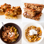 healthy apple recipes for breakfast or dessert! These easy apple recipes include apple muffins, apple cakes, apple pancakes, apple crumble, apple pie and more!