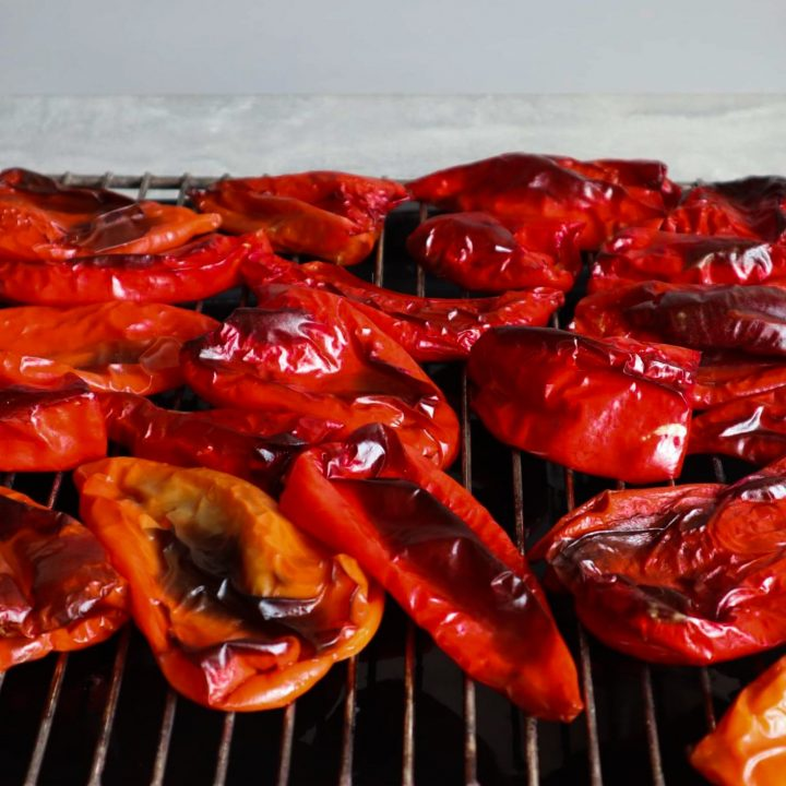 Learn how to roast peppers in the oven, on the grill or in a pan on the stove and then look at how to store and use those roasted peppers!