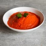 This delicious easy and healthy roasted red pepper dip with feta cheese is a flavorful Mediterranean snack idea or side dish that you can use just like hummus.